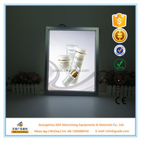 Aluminium slim led light box sign for beauty salon