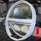 round window aluminum glass round windows