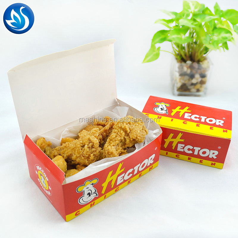 Custom Printed Different Sized Fried Chicken Packaging Box
