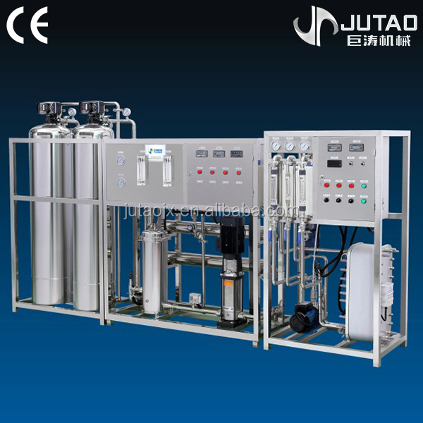 Stainless steel reverse osmosis high desalting water treatment machine