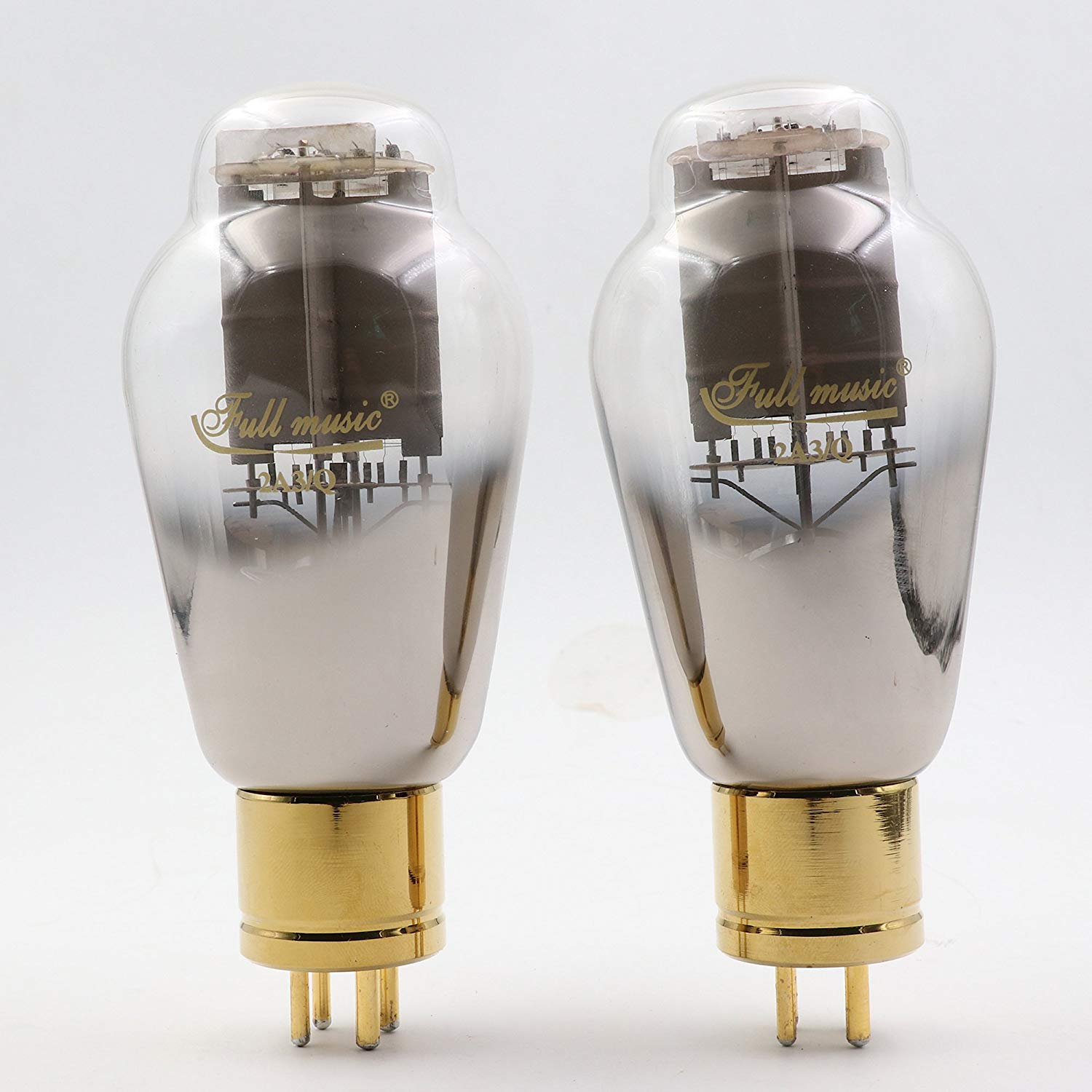 1 Pair Top Premium TJ Fullmusic 2A3/Q 2A3Q Vacuum Tube Hifi Audio 2A3 Power Tubes Factory Test&Match