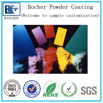 Ral Color Chart High Temperature Curing Powder Coating For Steel