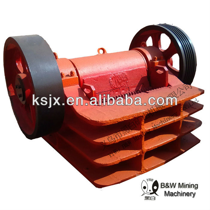 Advanced technology good quality jaw crusher,2013 new arrival ore processing widely used jaw crusher