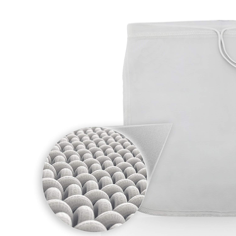 2019 Amazon servizio di 200 micron FILTRO riutilizzabile canapa cotone organico dado sacchetto di latte per il Latte di Mandorla con Ultra Fine Maglia