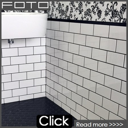 Blanco Metro Azulejo Mosaico De Vidrio Para Baño,Cocina Backsplash ...