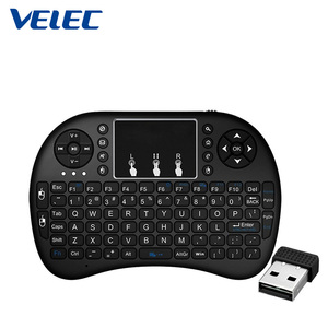 High quality and reasonable price 5 Colorful Backlit Changing Modes i8 Keyboard for Laptop, Teclado Para Smart TV