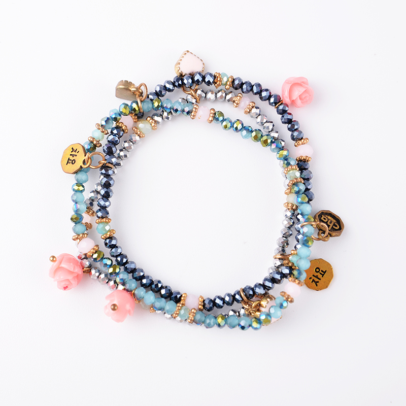 76ade6f9e714 Venta al por mayor brazalete flor de plastico-Compre online los ...