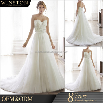 New Design Custom Made 2015 Latest Wedding Gown Designs Dresses For The Bride