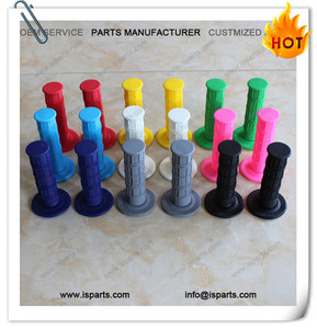 9 colors softest 23mm handle bar grips rubber gel grips fit motorcycle motocross racing ATV dirt bike