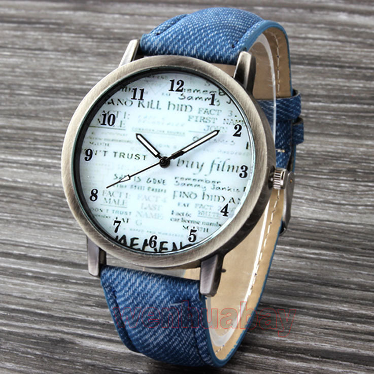 Image result for blue newspaper watch