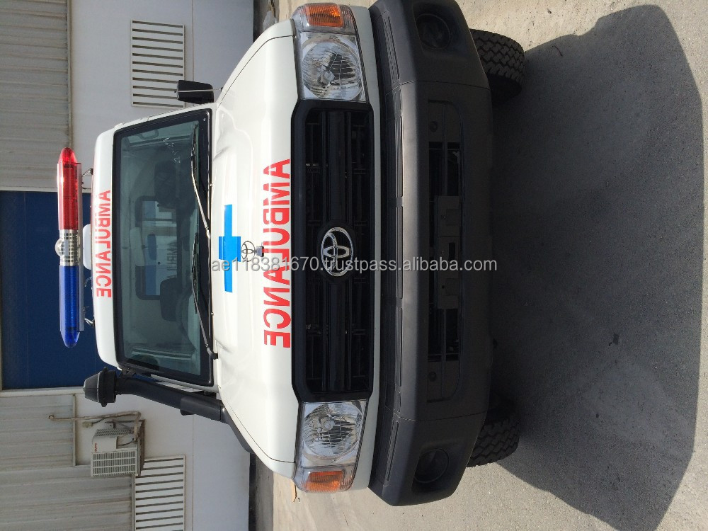 Ambulance Toyota 4x4 78 series hardtop emergency vehicle