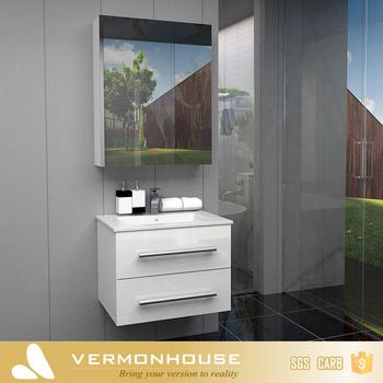2018 Vermont New Design Mirror Mdf Board Modern Bathroom Wash Basin