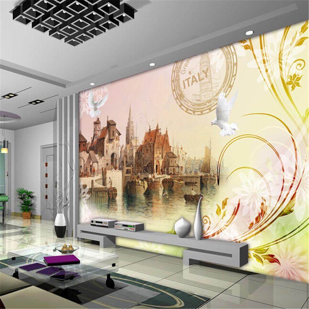 كبيرة صور خلفيات 3d الطباعة الرقمية/ الجداريات الجدار ...