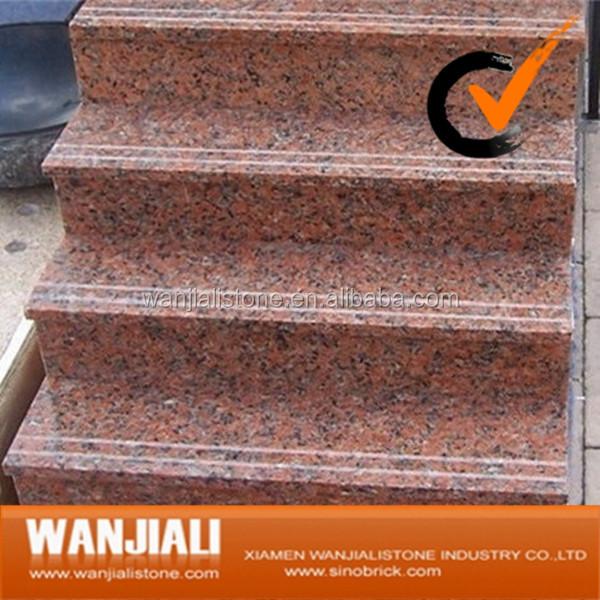 escaleras interiores de piedra natural