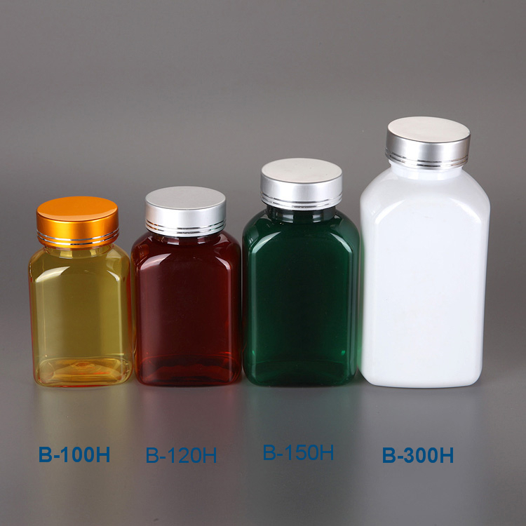 200ml wholesale pet plastic jars with lids,wholesale medical pill green container,wholesale medical pill container