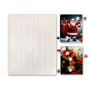 A4 Direct Factory Hot Selling Custom Paper Sublimation Blank Printable Jigsaw Puzzle 120pcs