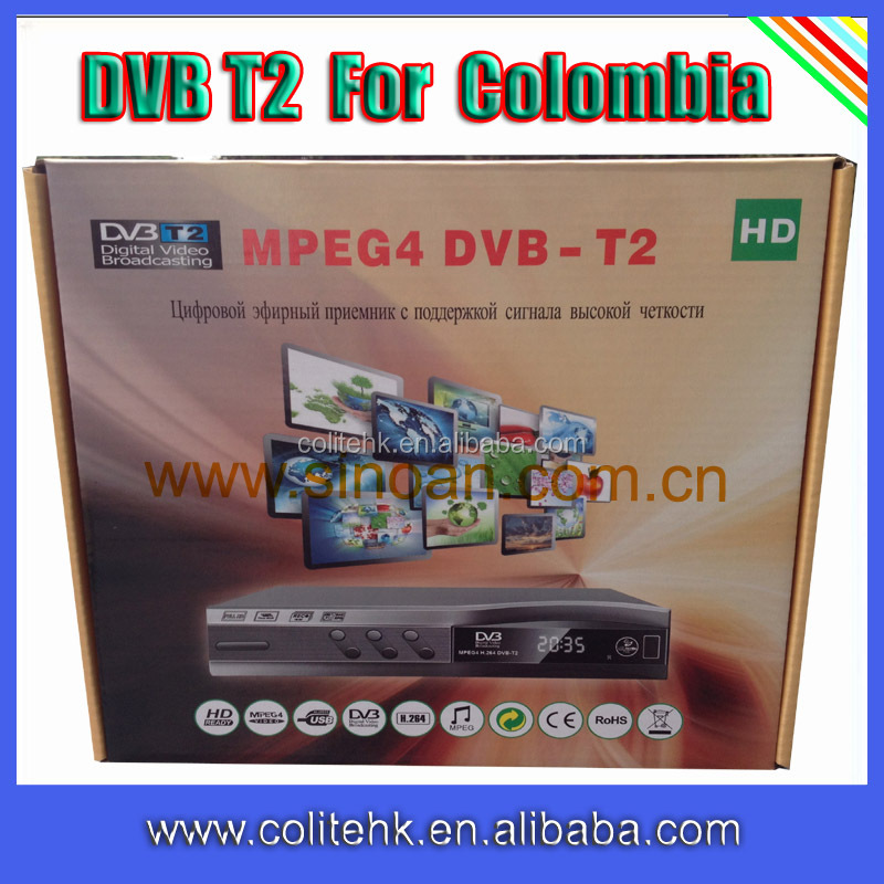 2014 factory price quad core 1080p android tv box dvb t2