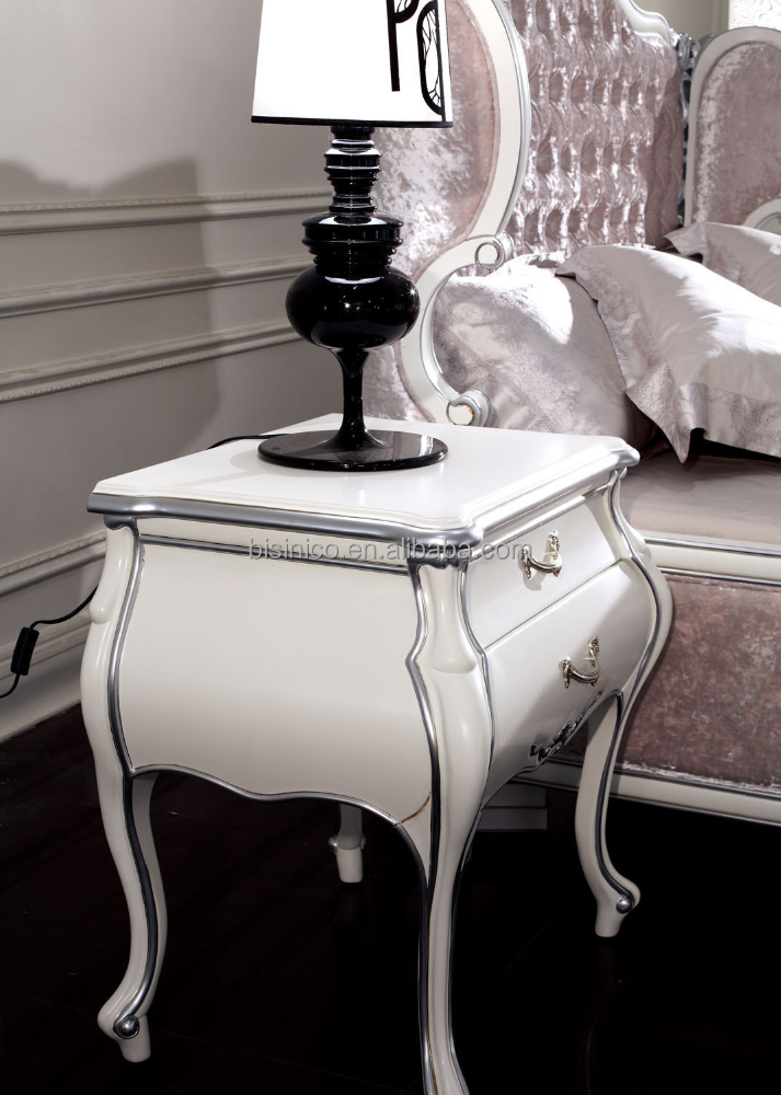 New Classic White Night Stand,Antique White Night Table - Buy New ...