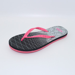 Factory Manufacturer Women Straps Printed Customized Eva Flip Flop Slippers