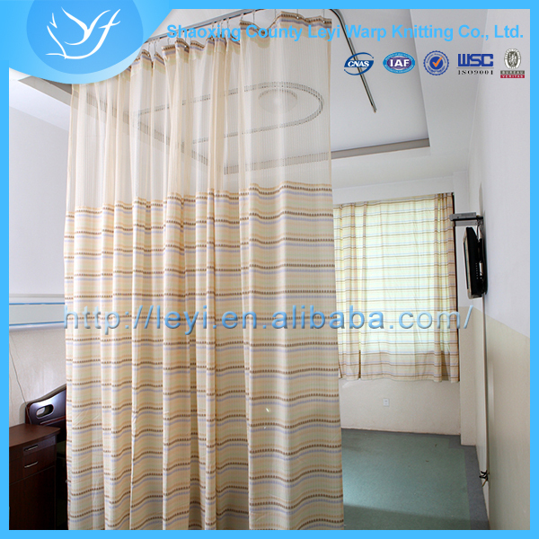 Ly 18 100 Polyester Washable Medical Ward Cubicle Curtain