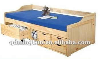 Sofa Bed With Under Storage Drawers Buy Single Sofa Bed Modern Single Bed Pine Wood Box Bed Product On Alibaba Com