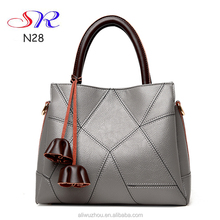 High quality leather bags women 2015 european model pure leather lady's handbags shoulder messenger bag online shopping