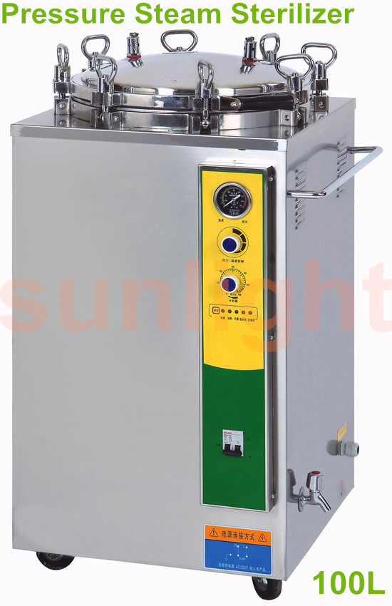 SL-100LJ 100L Vertical Pressure Steam Sterilizer