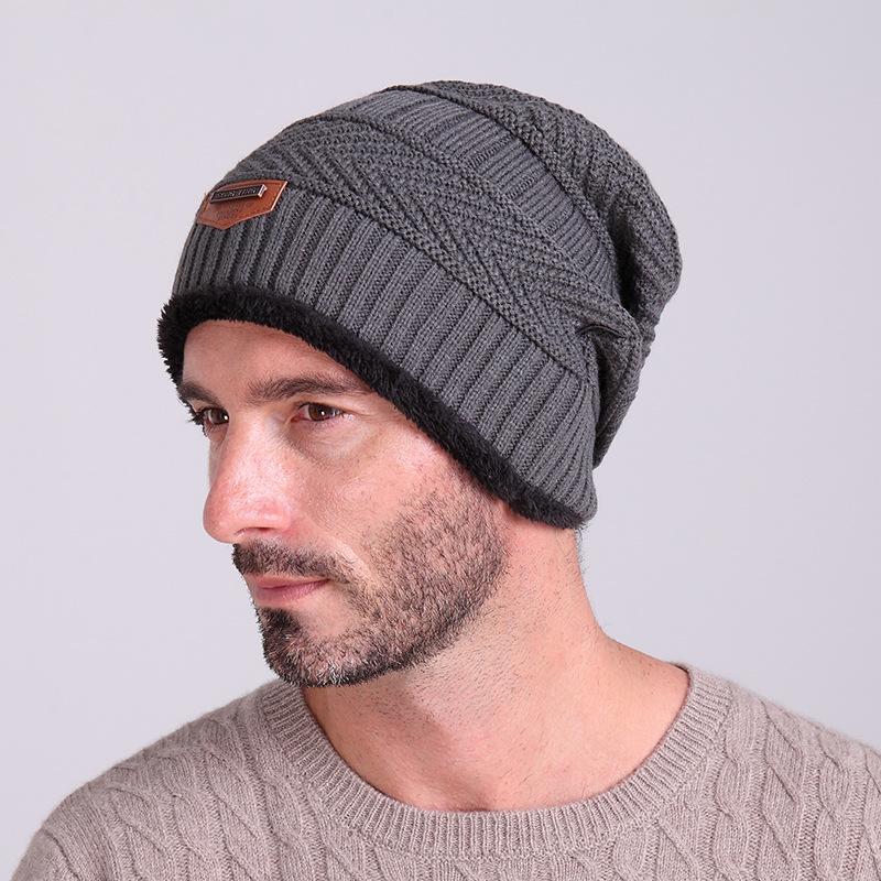2015 Brand Beanies Knit Men's Winter Hat Caps Skullies ...