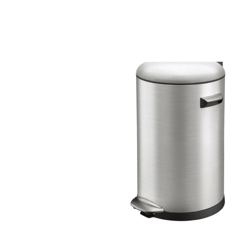 Creative simplicity home living room trash can/European-style kitchen/ bathroom trash can with lid-I