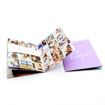 Custom coloring cheap custom catalogue book brochure printing factory