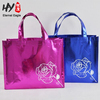 Large capacity custom logo simple waterproof shopping tote bag