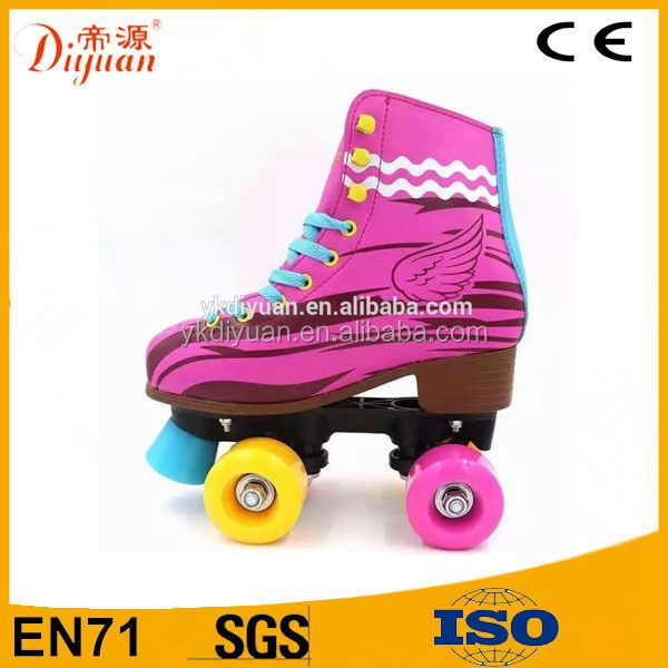 New child double soy luna roller skates quad with wholesale