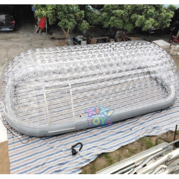 2019 XIXI TOYS Customized Inflatable clear swimming pool cover tent inflatable pool dome