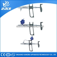 Factory price ZJKR Pet heal Veterinary Automatic Syringe for poultry fish