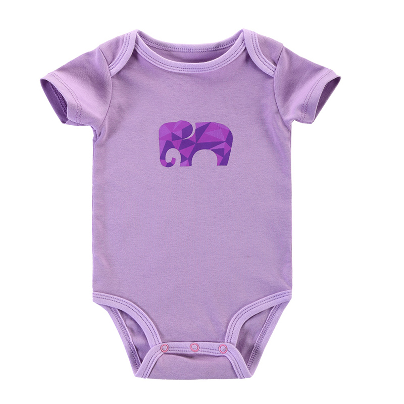 a3de75e03ff5b4 Get Quotations · Newborn Baby Romper Baby Boy Girl Clothes Short Sleeve  Cotton Toddler Underwear Infant Clothing