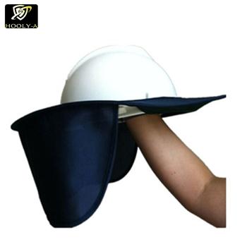 ec3101107fe Safety Helmet Neck Shade With Plastic Brim Safety Helmet Neck Flap - Buy Safety  Helmet Neck Shade