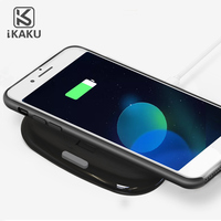 KAKU new high quality wireless car charger 5v 1.8a micro usb charger for iphone
