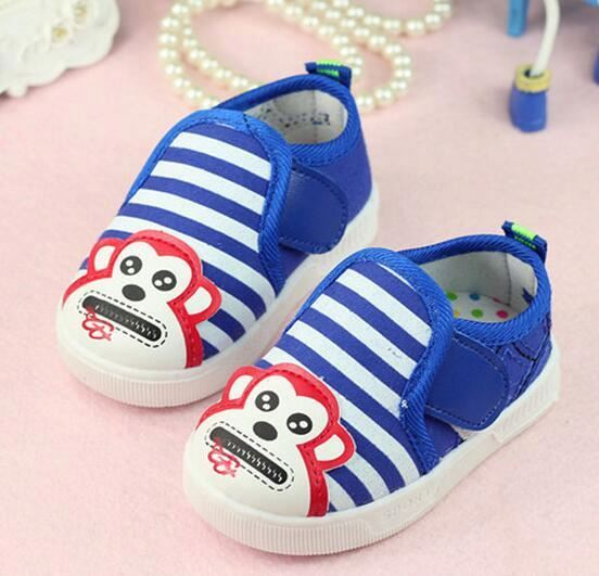 Wholesale customize 0-3 years old baby boys casual comfortable toddler canvas sneakers shoes