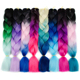 LSY Afro Hair Products Synthetic Hair Jumbo Braid Ombre Color Jumbo Braiding Hair for Crochet Braids Twist
