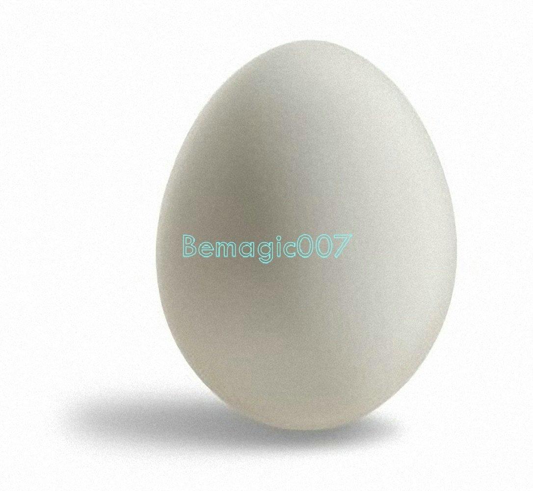 Rubber Egg White - Magic Accessories