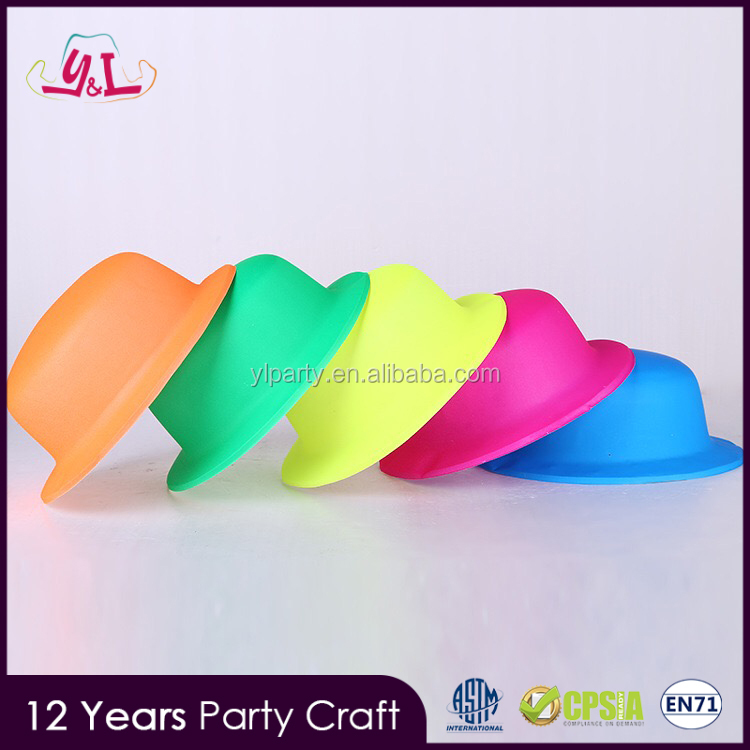 Funny Party Plastic Neon Hat