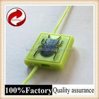 GZtime/quality string seal tag, hang tag string, clothing plastic seal tag/buy online tags