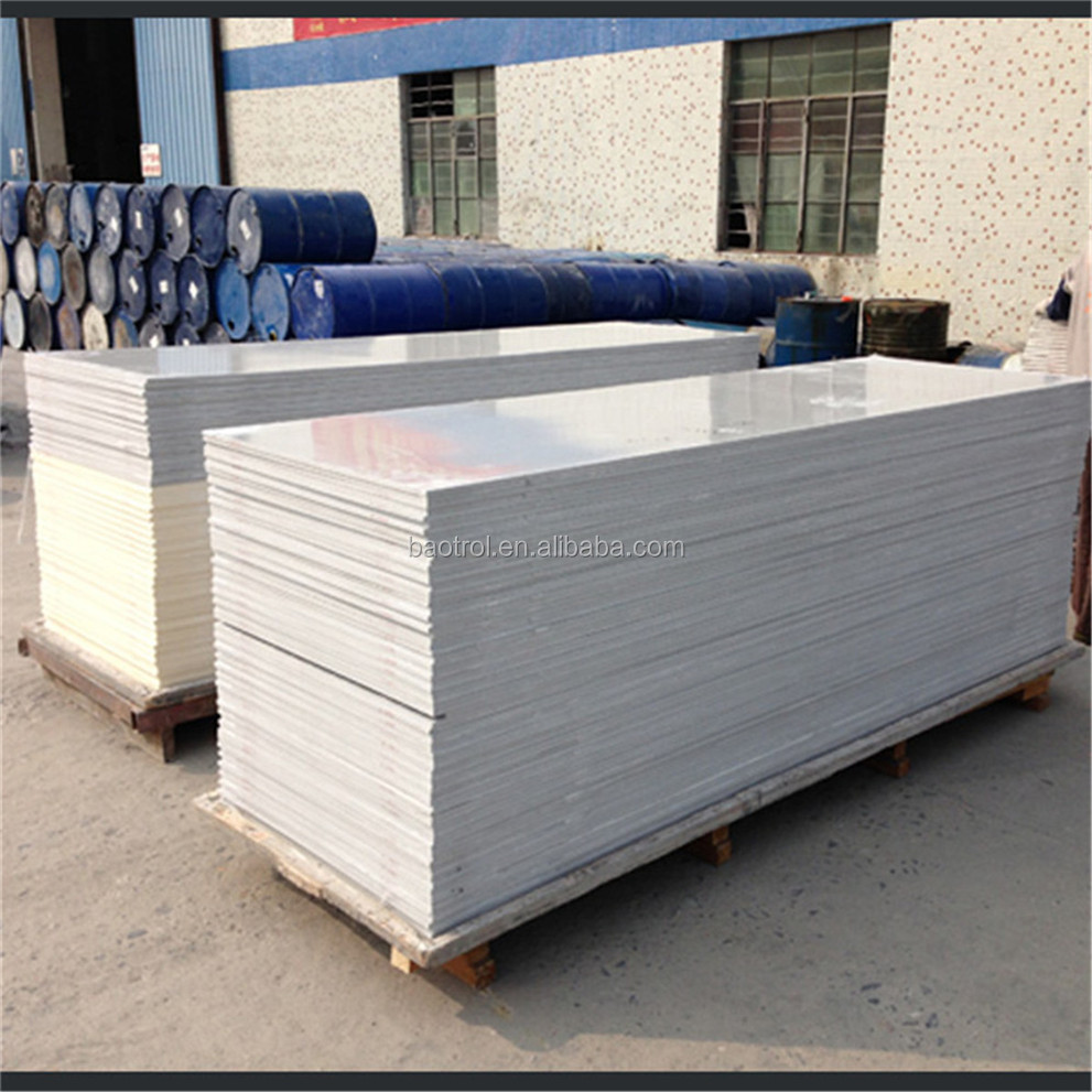 polyester resin sheet, modified acrylic sheet,polymarble solid surface