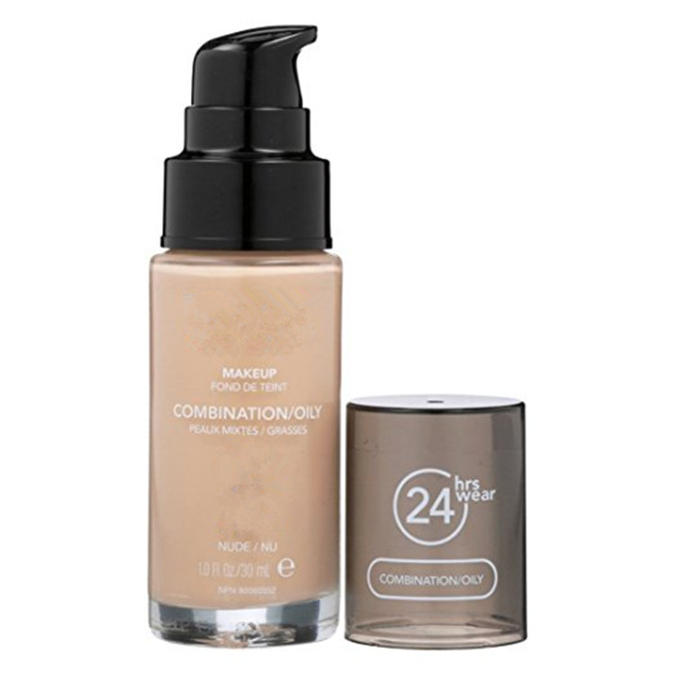 Total 22 Colors Natural Nude Liquid Makeup Foundation for Combination Oily Skin