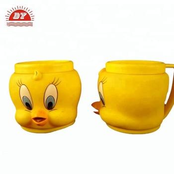 Titti tazze cup bambini lavaggio a mano di arte giallo personaggio