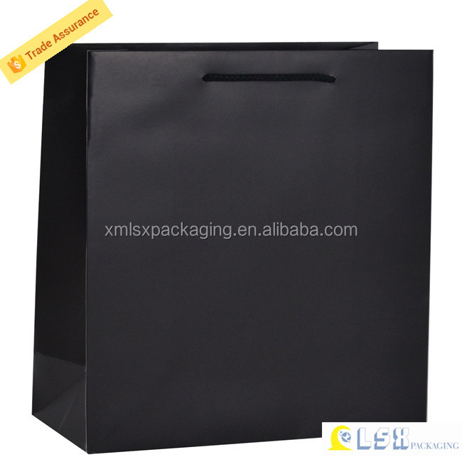 Custom luxury paper bag for cloth and shopping,paper bag making machine price