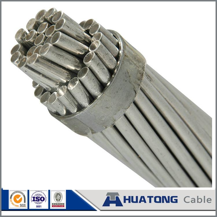 Messenger alumoweld cable - aluminum clad steel wire strand Overhead Ground Wire