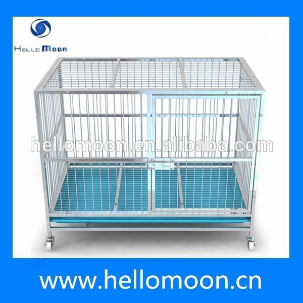 Stainless Steel Heavy Duty Tube Dog Cage