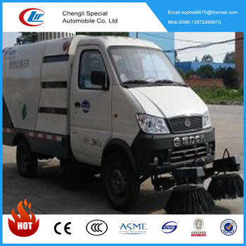 China chengli factory sale new best price pure electric road sweeper truck road cleaning truck