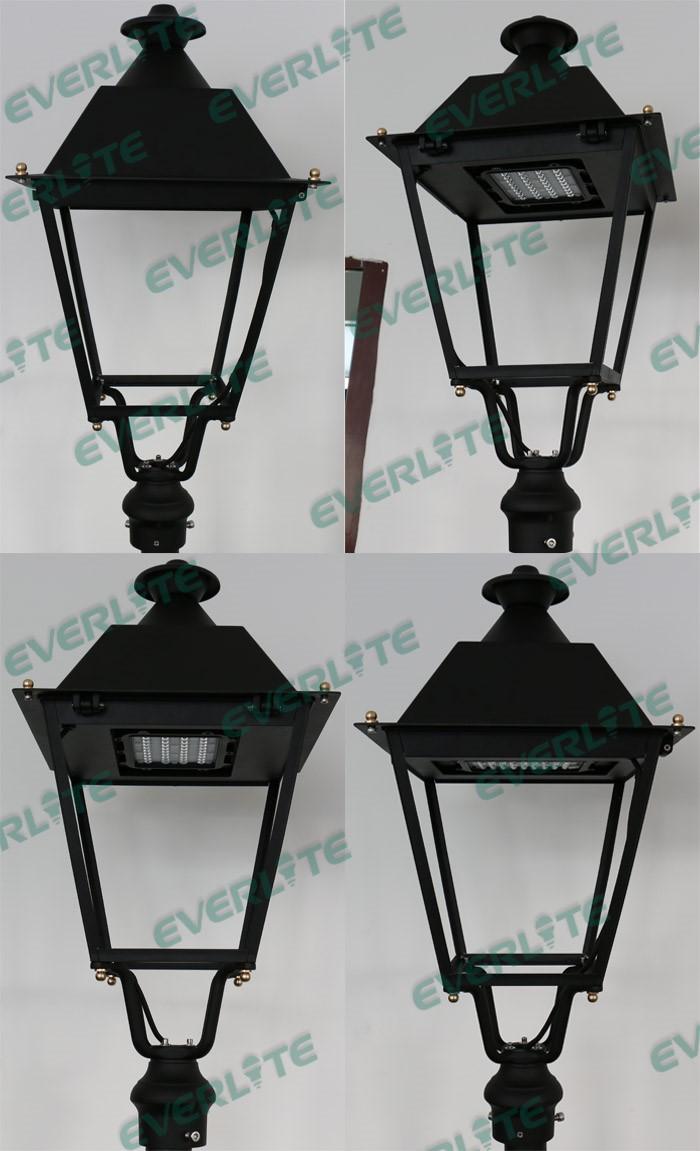 everlite led villa post top lanterns garden bollard light led
